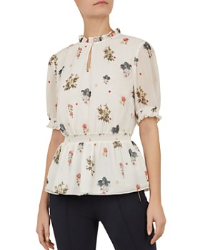 fcdab2583645c5 Ted Baker - Marisia Oracle Floral Top ...