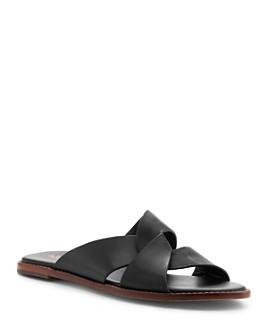 Botkier - Women's Zuri Leather Slide Sandals