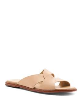 Botkier - Women's Zuri Leather Slide Sandals