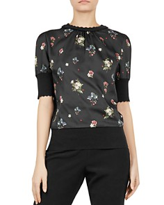 Ted Baker - Addylyn Oracle Floral Top