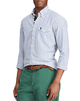 56774e48676 Polo Ralph Lauren - Yale Striped Classic Fit Button-Down Shirt ...