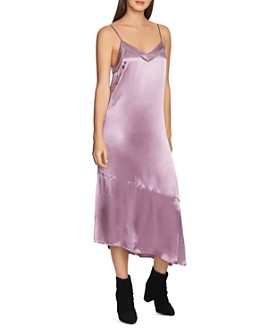1.STATE - Asymmetric Slip Dress