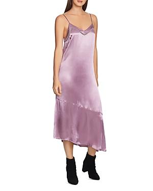 1.state Asymmetric Slip Dress