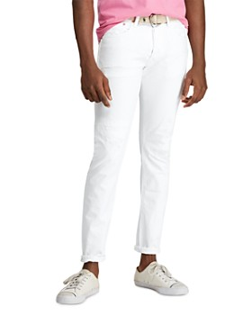 Polo Ralph Lauren - Yale Sullivan Slim Fit Jeans in White - 100% Exclusive