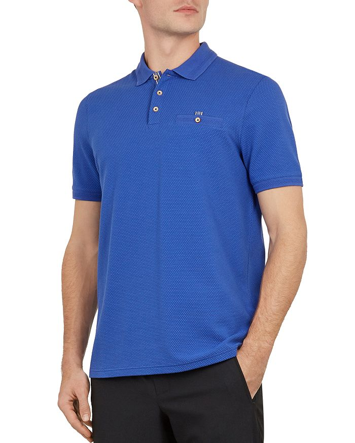 Ted Baker - Vardy Textured Regular Fit Polo Shirt
