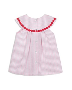 Tartine et Chocolat - Girls' Crochet-Trim Stripe Dress - Baby