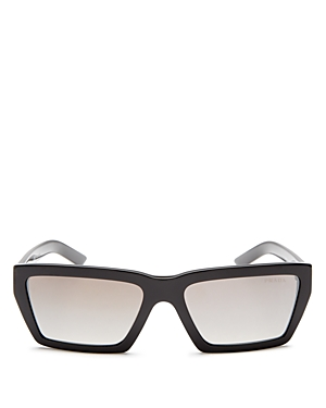 Prada Women's Mirrored Square Sunglasses, 57mm