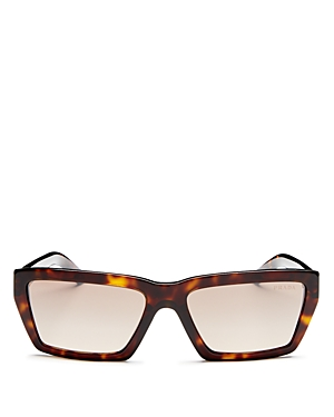 Prada Women's Square Sunglasses, 57mm
