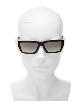 Prada - Women's Mirrored Square Sunglasses, 57mm