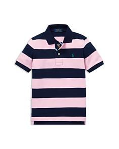 Ralph Lauren - Boys' Striped Mesh Polo Shirt - Little Kid