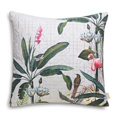 """Ted Baker - Pistachio Border Decorative Pillow, 18"""" x 18"""""""