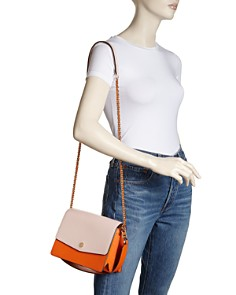 Tory Burch - Robinson Color-Block Shoulder Bag