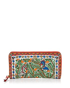 bf715b60253 Tory Burch - Robinson Printed Continental Wallet ...