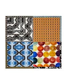 Larioseta - Patchwork-Print Scarf