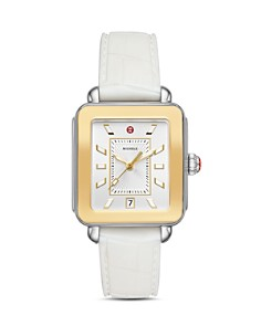 MICHELE - Deco Sport Two-Tone Watch, 34mm x 36mm
