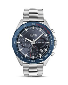 BOSS Hugo Boss - Intensity Blue Dial Chronograph, 44mm