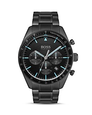 Boss Hugo Boss Accessories TROPHY ALL BLACK CHRONOGRAPH, 44MM