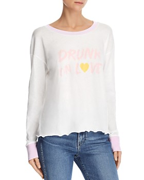 WILDFOX - Tori Drunk On Love Graphic Tee - 100% Exclusive