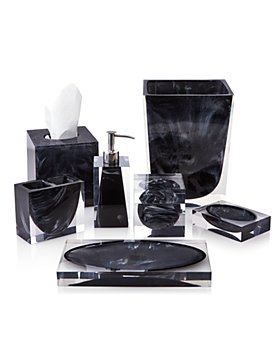Kassatex - Ducale Black Bath Accessories - 100% Exclusive