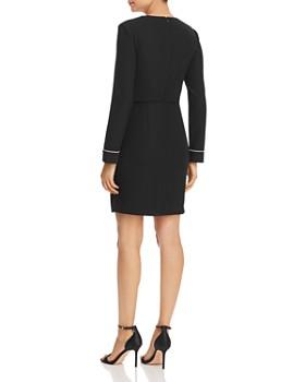 Armani - Piped Lapeled Mini Dress