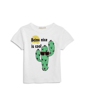 COMUNE - Girls' Being Nice is Cool Tee - Little Kid