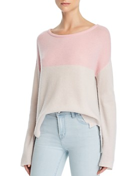 a8f75fc9964 ATM Anthony Thomas Melillo - Color-Blocked Cashmere Sweater ...