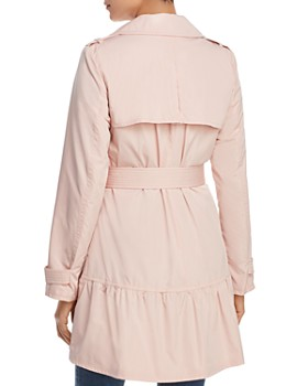 kate spade new york - Flounced Hem Trench Coat