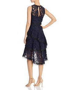 Eliza J - Sleeveless Lace Illusion Dress