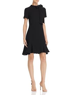 Shoshanna Dresses BOSHER TIE-NECK DRESS
