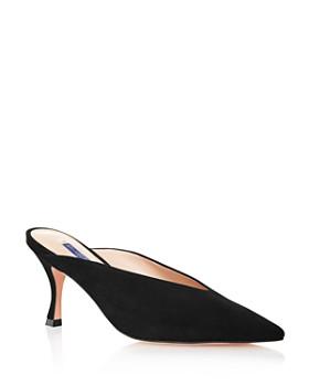 9003cbab87c Stuart Weitzman - Women s Lulah Kitten Heel Mules ...