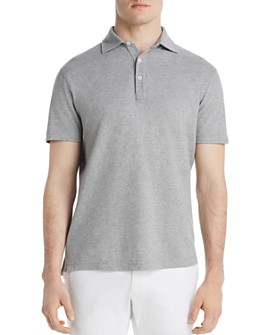 Dylan Gray - Heathered Piqué Classic Fit Polo Shirt - 100% Exclusive