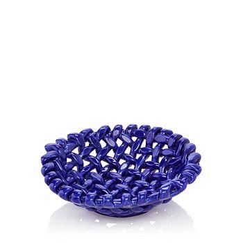 VIETRI - Round Small Woven Basket - 100% Exclusive