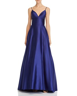 Avery G - Satin Ball Gown