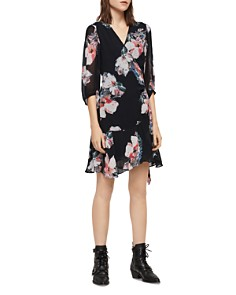 ALLSAINTS - Jade Floral-Print Wrap Dress - 100% Exclusive
