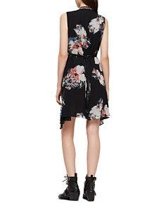 ALLSAINTS - Jayda Floral-Print Zip-Front Dress - 100% Exclusive