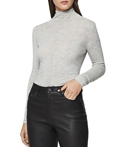 REISS - Amberly Funnel Neck Sweater