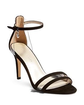 KAREN MILLEN - Women's Suede High-Heel Sandals