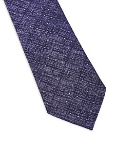 Ted Baker - Circ Spotted Textured Silk Skinny Tie