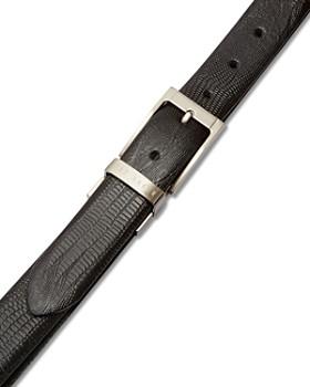 Ted Baker - Josef Lizard-Embossed Leather Reversible Belt