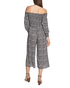 1.STATE - Wildflower Off-the-Shoulder Jumpsuit