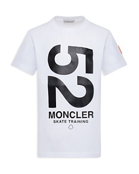 Moncler - Boys' Large Logo Maglia Tee - Little Kid