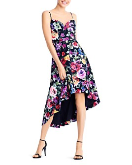 Aidan by Aidan Mattox - Floral High/Low Dress