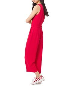 MICHAEL Michael Kors - Stretch-Crepe Belted Jumpsuit