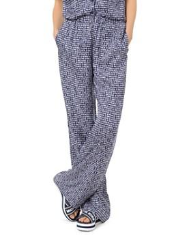 MICHAEL Michael Kors - Printed Silk Pajama Pants