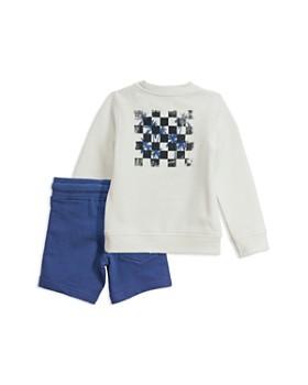 Sovereign Code - Boys' Checkers + Alburn Sweatshirt & Shorts Set - Baby