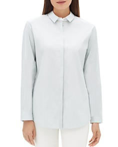 Lafayette 148 New York - Sabira Striped Shirt