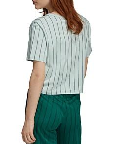 adidas Originals - Striped Crop Tee