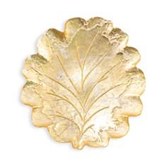 VIETRI - Moon Glass Leaf Platter