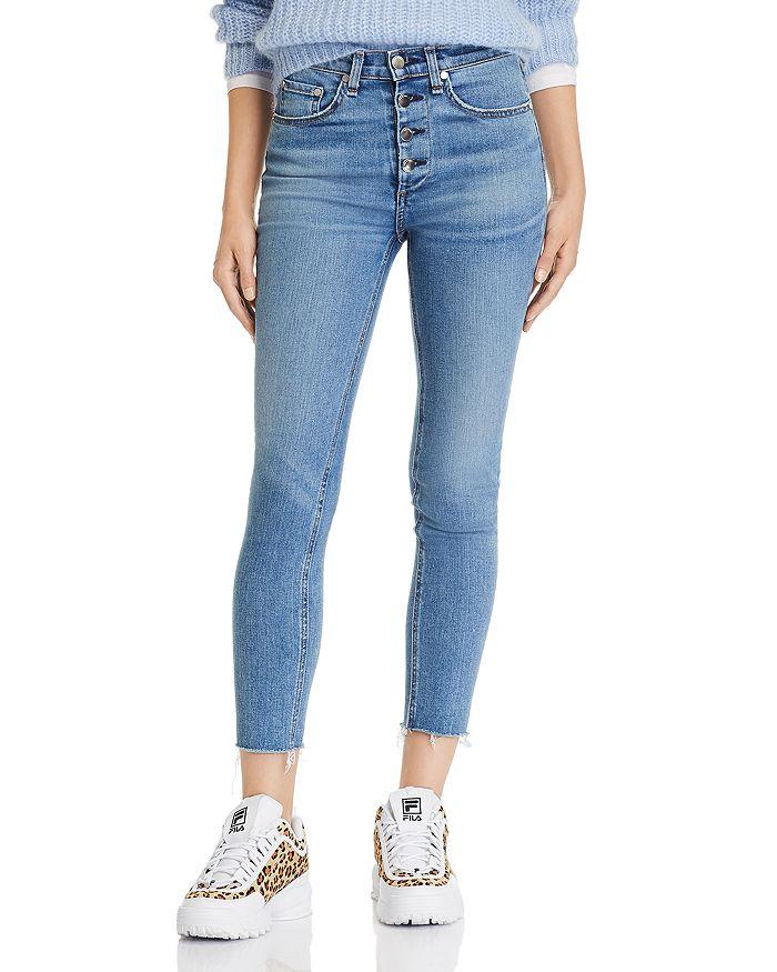 ce359843d980 rag   bone JEAN Nina High-Rise Ankle Skinny Jeans in Farrah ...