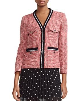 3c1d2548d Maje - Vivor Tweed Jacket ...
